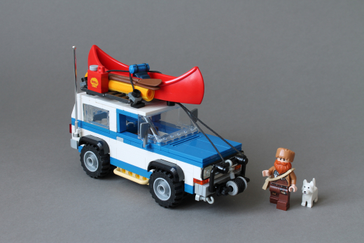 Blue Off Road vehicle