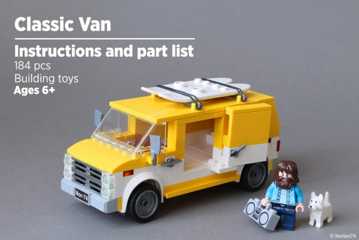 CLASSIC VAN INSTRUCTIONS