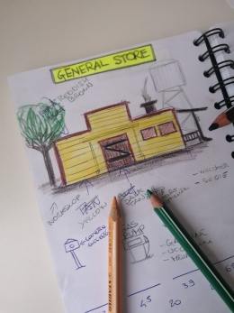 GENERAL STORE BEHIND THE SCENES
