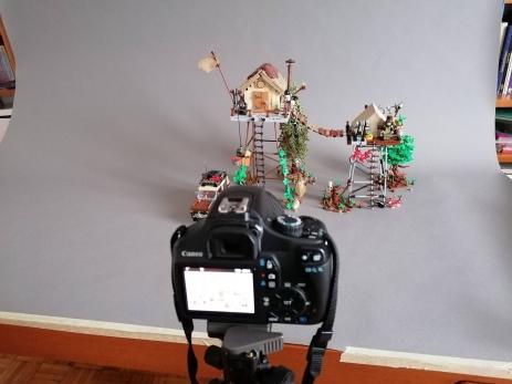 Stilt Houses phot shoot
