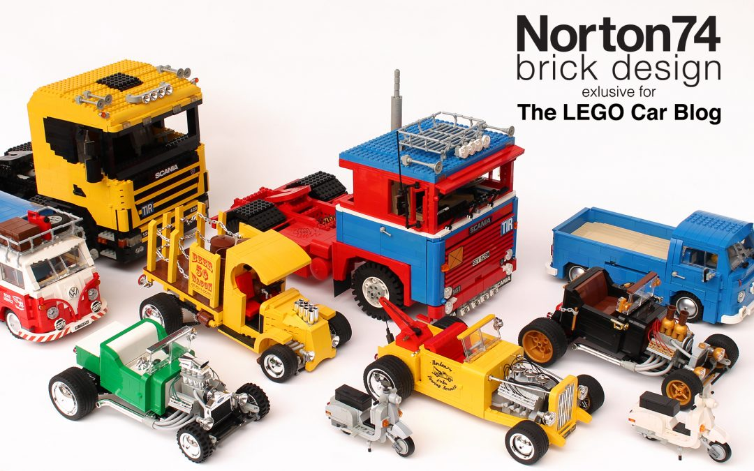 Norton74 elected MASTER MOCer by THE LEGO CAR BLOG