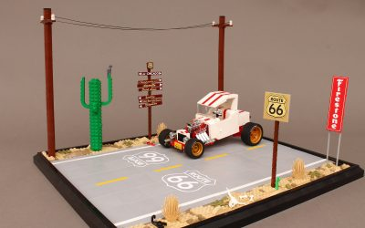 "Route 66 and Ford ""T"" Roadster"
