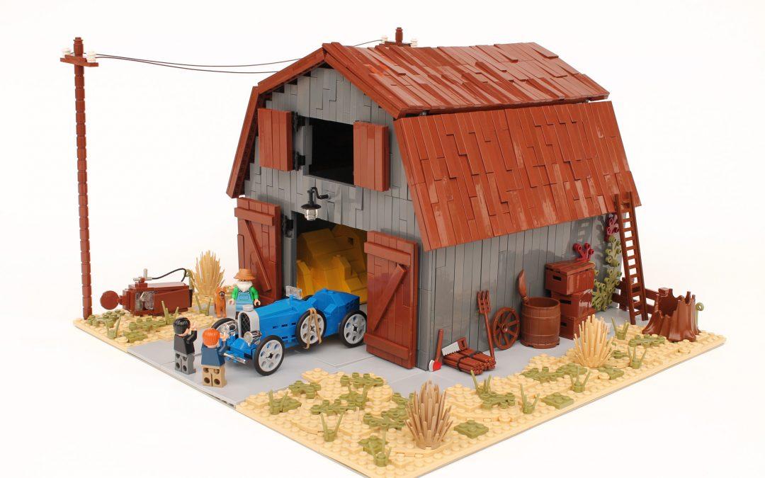 Bugatti Barn Find