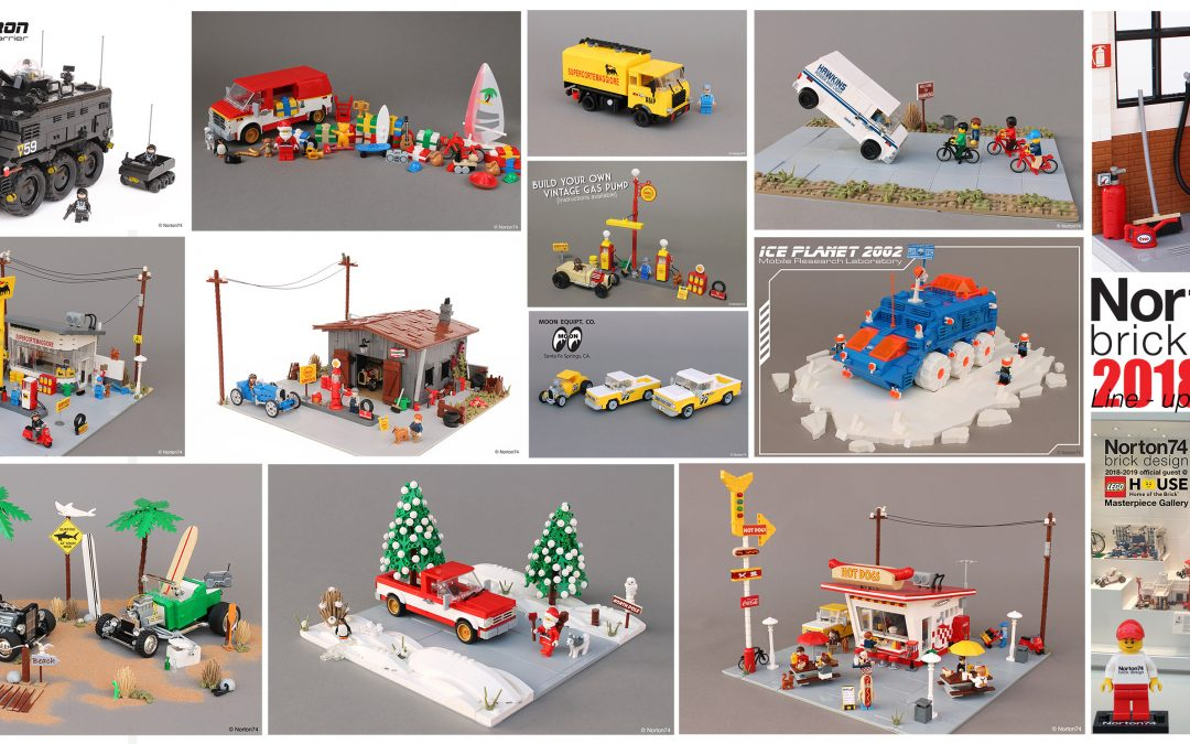A year in LEGO: 2018