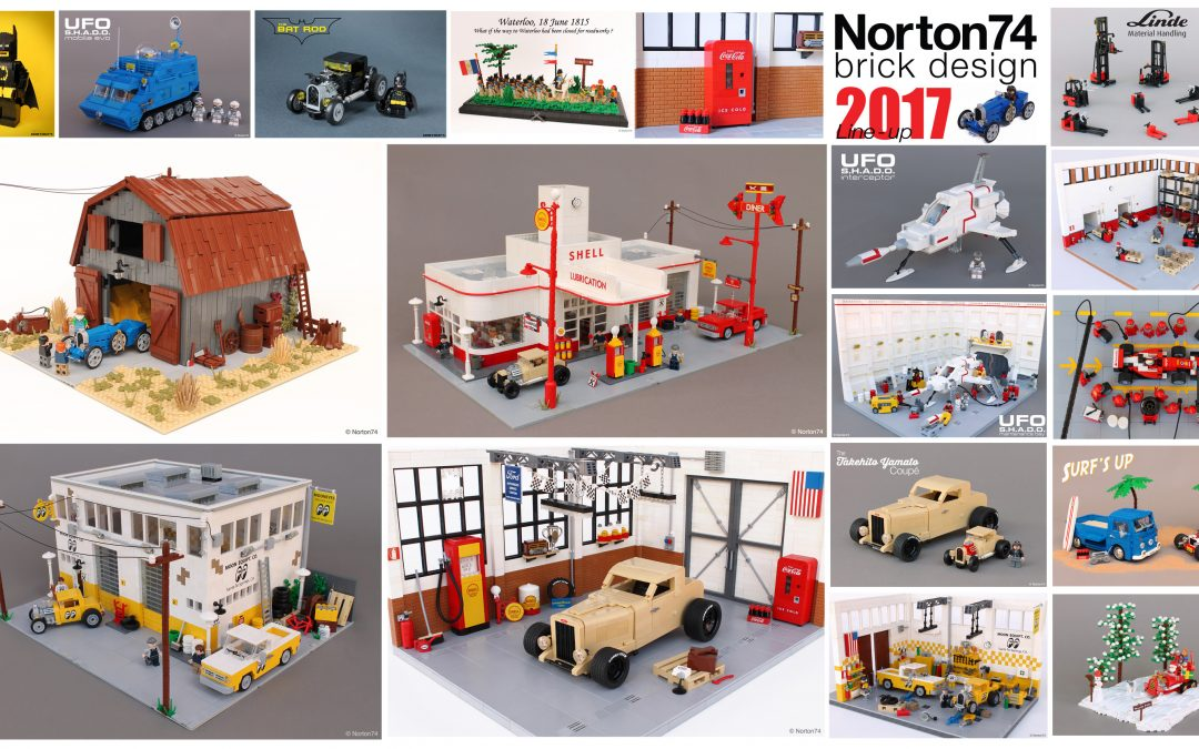 A year in LEGO: 2017