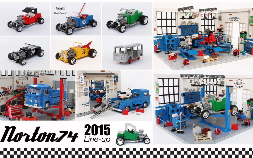 A year in LEGO: 2015