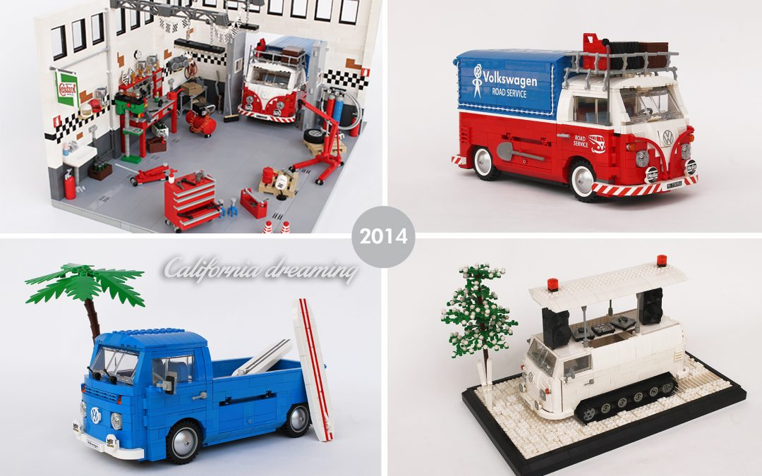 A year in LEGO: 2014