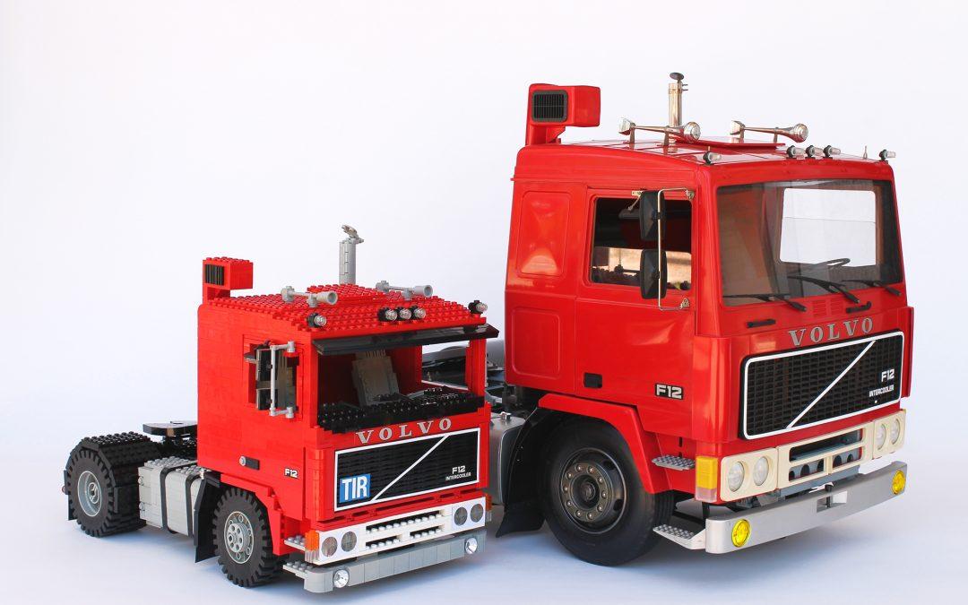 Volvo F12: LEGO Vs Pocher