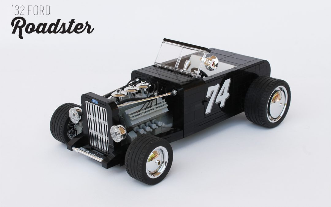'32 Ford Roadster: classic choice.