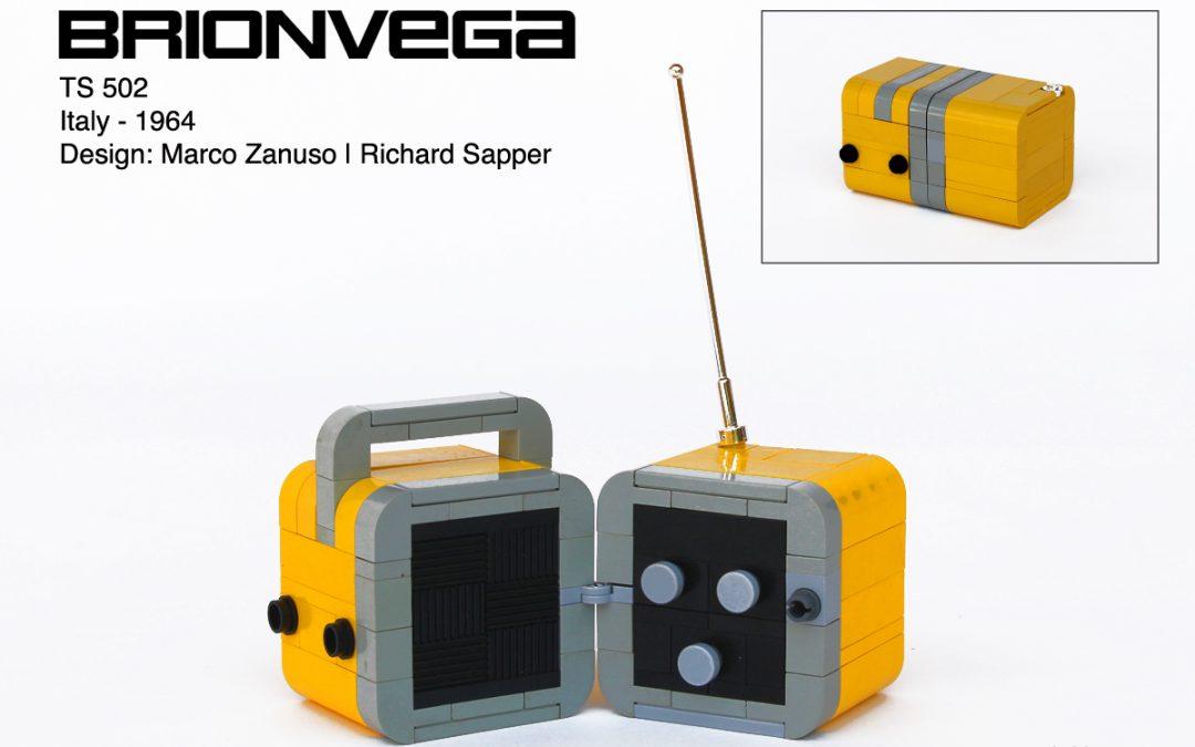 Brionvega TS502 – Radio Cubo 1964