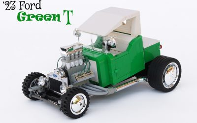 """Green T"" – '23 Ford T-bucket"
