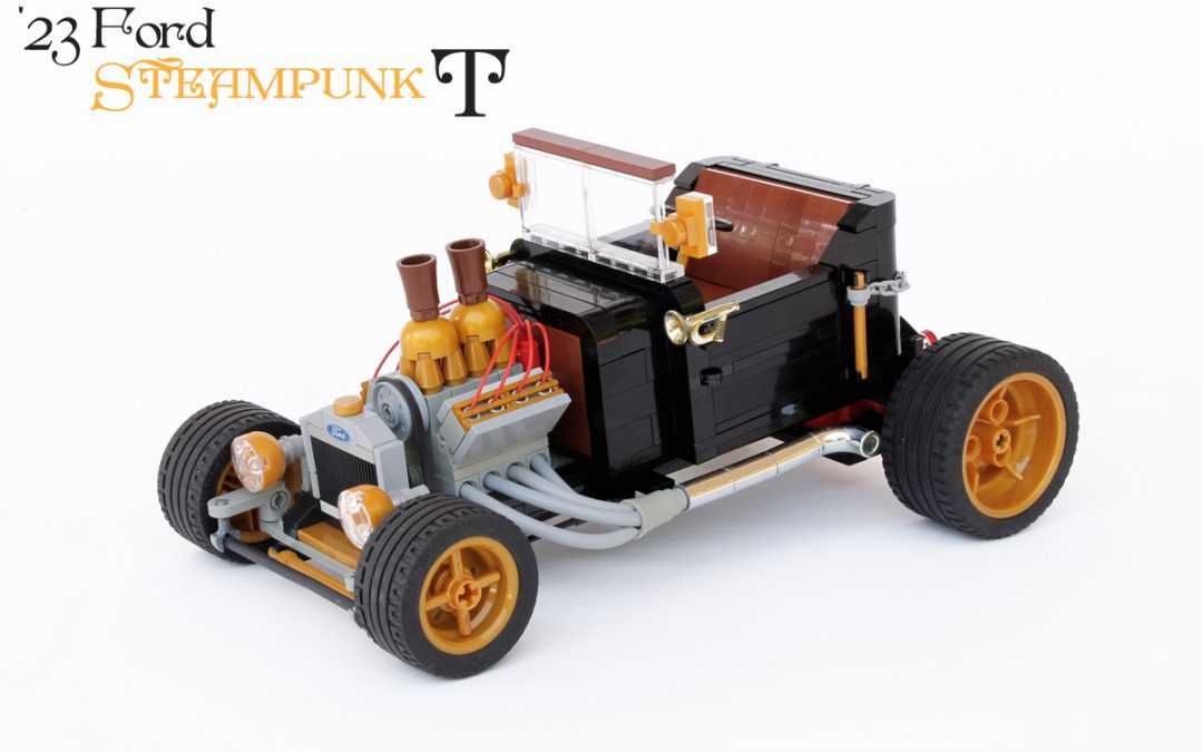 "Steampunk ""T"" | '23 Ford T-bucket"