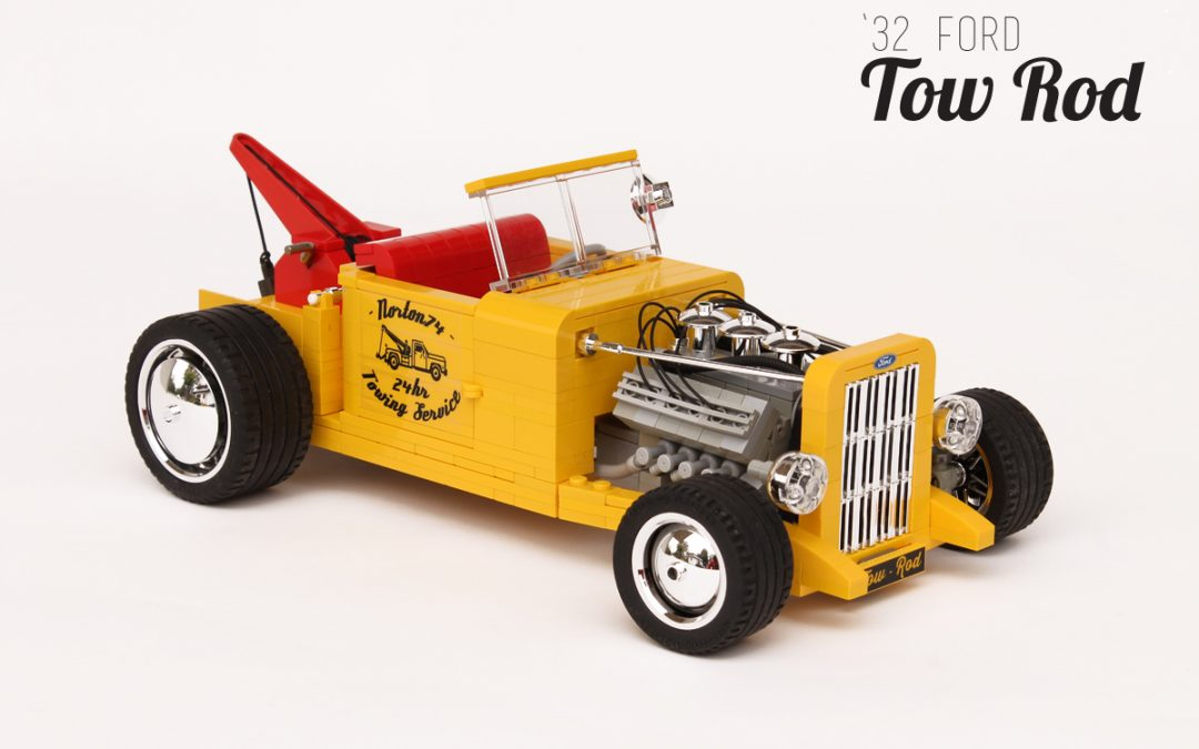 """Norton74 '32 Ford """"Tow Rod"""""""