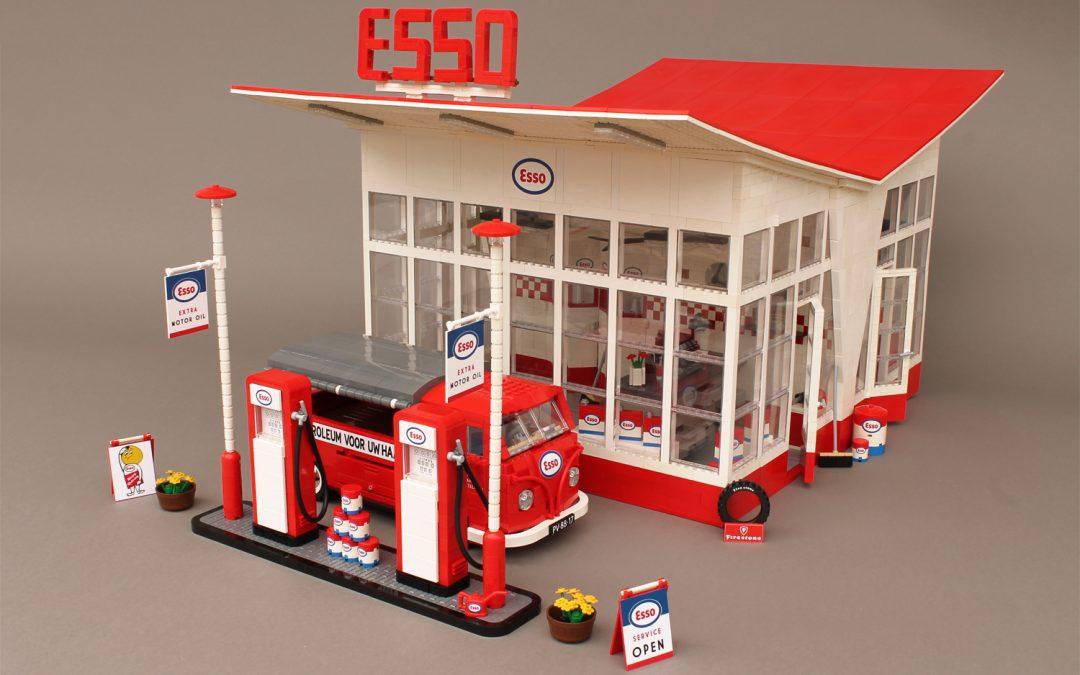 Esso Gas Station, W.M. Dudok (1953)