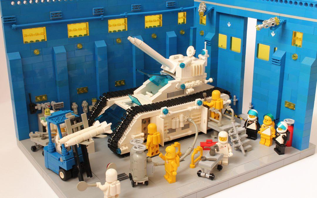 """White Tiger"" Futuron Tank   Maintenance bay"