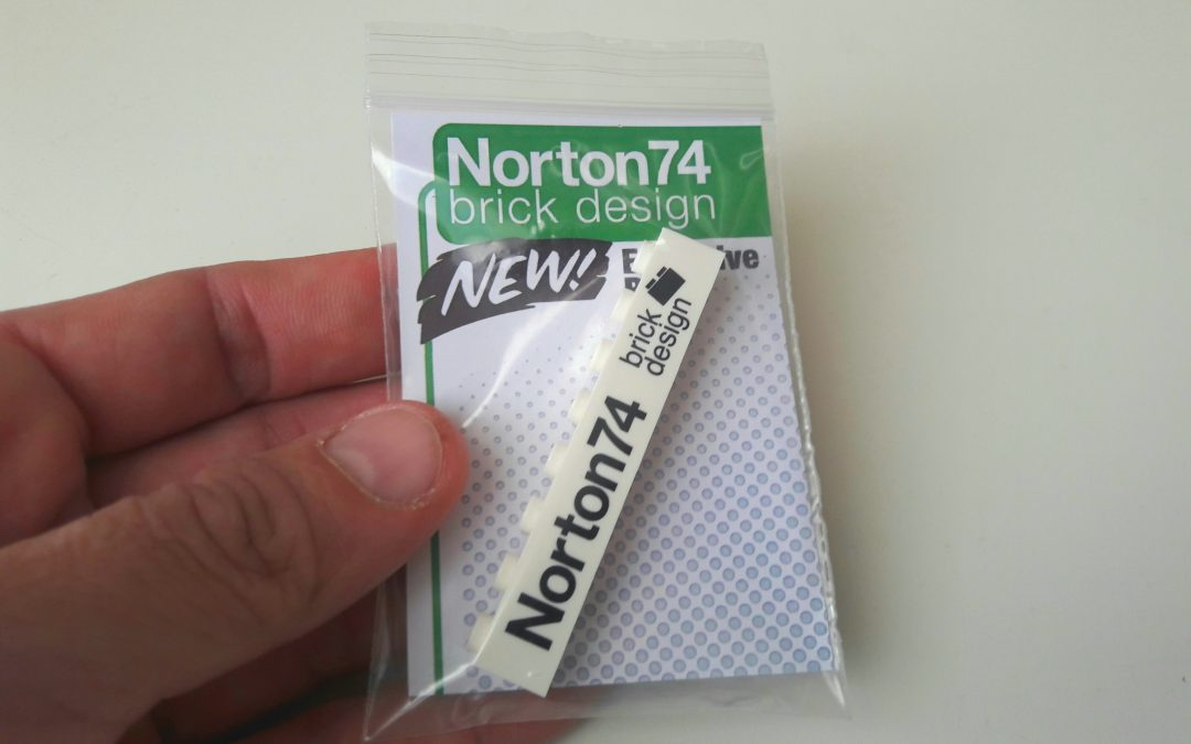 Norton74 Commemorative Brick