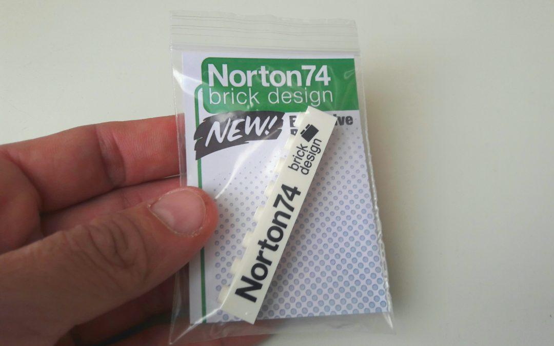 Norton74 Commemorative Brick