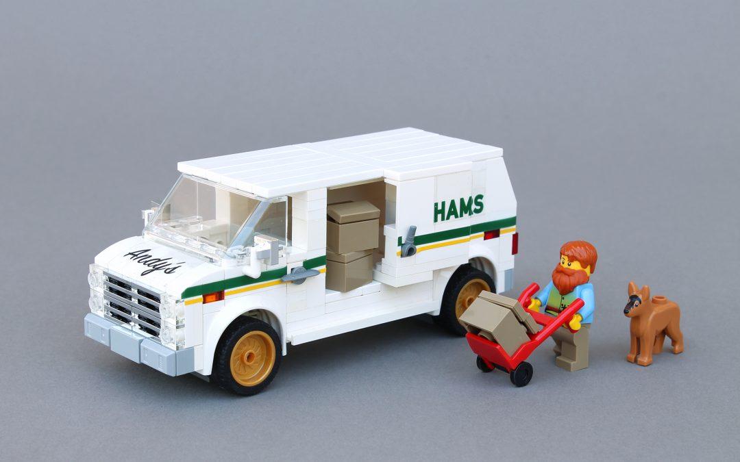 Chevy delivery van