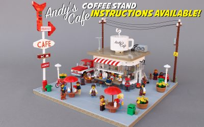 Coffee Stand: INSTRUCTIONS AVAILABLE!