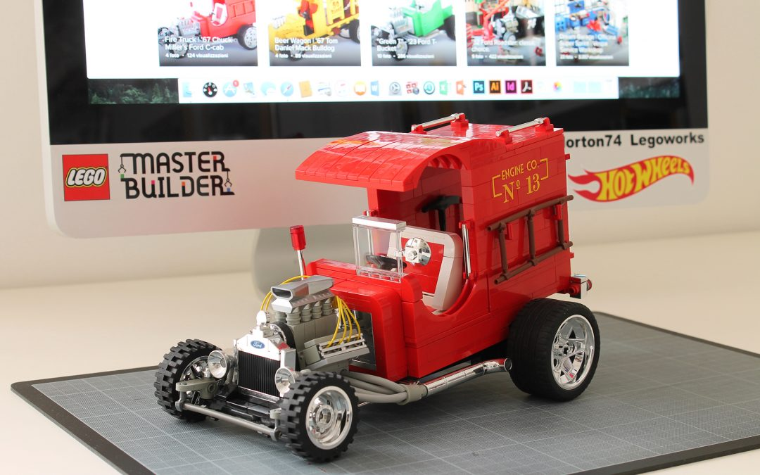 """FIRE TRUCK"" designer Chuck Miller talks about his works and his career [Special interview for Norton74]"