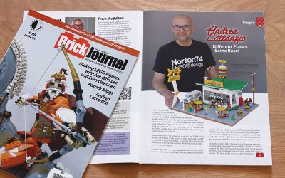 Brick Journal No. 61 features Norton74 Food Stands