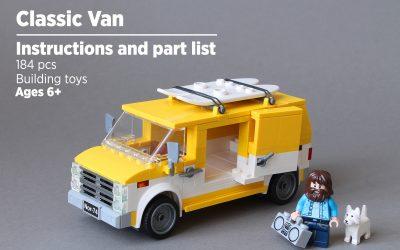 Classic Van   Instructions and part list