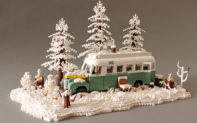 Into the Wild and the Magic Bus under the snow