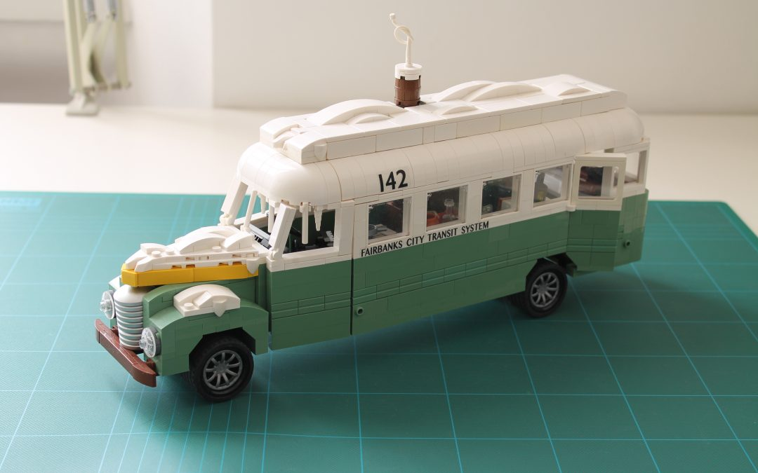 Snowy Magic Bus: behind the scenes of the building process