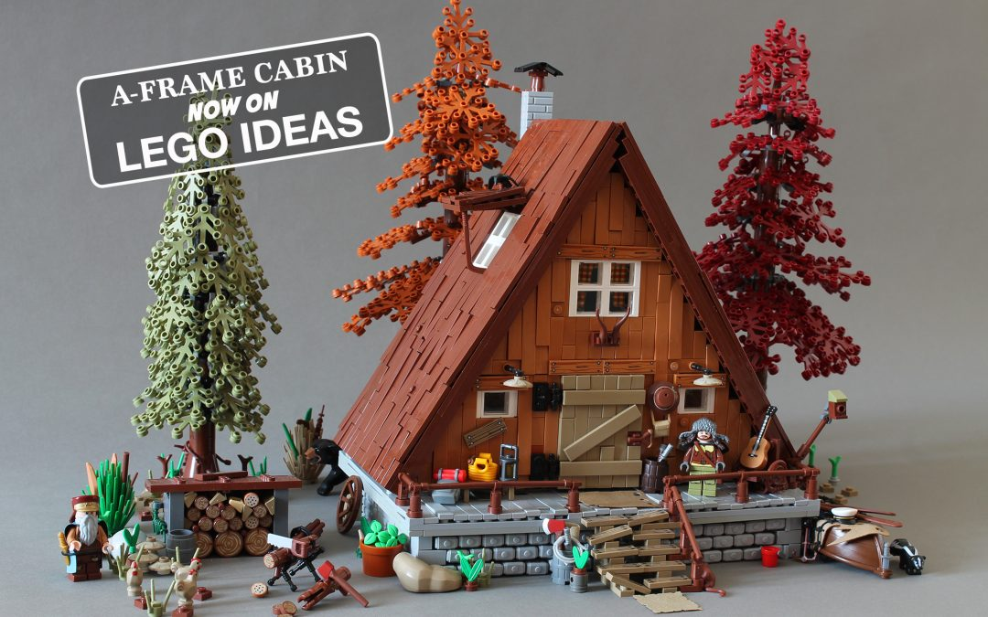 Support the A-FrAme Cabin on LEGO IDEAS!