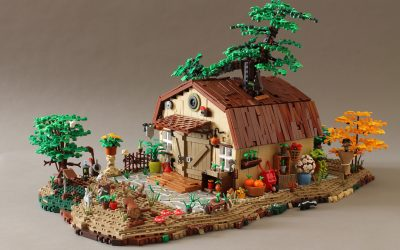 Magda's Garden Shed (or the Shed with the Tree)